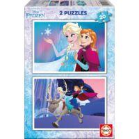 Educa 2x20 Parça Frozen Puzzle