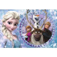 60 Parça Frozen Land Çocuk Puzzle (Trefl 17275)