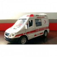 Can Toys Ambulans Sesli Ve Işıklı Metal Araba