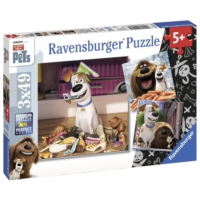 Ravensburger 3x49 Parça Puzzle (The Secret Of The Pets)