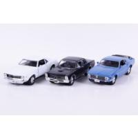 Welly Camaro - Pontiac Gto - Mustang Boss - 3'lü Set