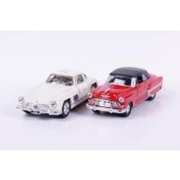 Welly Ford Crestliner - Mercedes Sl500 - 2'li Set