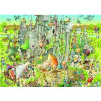 Heye Jurassic Habitat Puzzle (1000 Parça - Marino Degano)