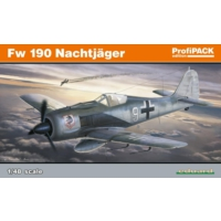 Eduard Fw 190A Nightfighter (1/48 Ölçek)