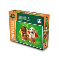 Ks Puzzle 100 Parça My Best Pets Mini Puzzle 0993