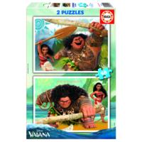 Educa Puzzle Moana 2 X 48 Parça Karton Puzzle
