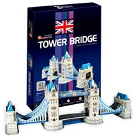 Cubic Fun Puzzle Tower Bridge (3 Boyutlu)