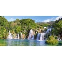 Castorland Hırvatistan Krka Şelalesi Puzzle (4000 Parça Panorama)