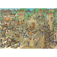 Jumbo Castle Conflict - Jan Van Haasteren (1000 Parça)