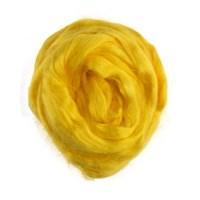 Gazzal Felt Wool Lurex Sarı Yün Keçe - 6502