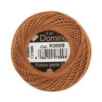 Coats Domino 8Gr Kahverengi No: 8 Nakış İpliği - K0009