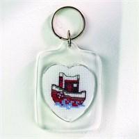 Permin 4X6 Denizci Desenli Anahtarlık Etamin Kiti - 111141
