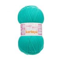 Kartopu Baby Soft Mavi Bebek Yünü - K569