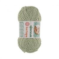 Kartopu Boncuk Yeşil Bebek Yünü - Tn307