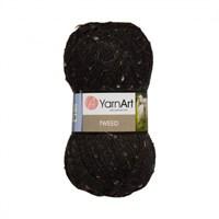 Yarnart Tweed Siyah El Örgü İpi - 228