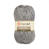 Yarnart Tweed Country Gri El Örgü İpi - 330