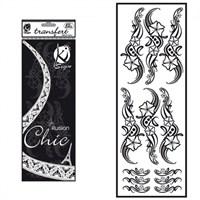 Ki-Sign Kadife Dokulu Çiçek Ütüyle Yapışan Desen Kağıdı - Ksfd-04