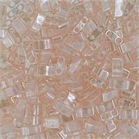 Miyuki Tila Half Cut 5X2.3 Mm 50 Gr. Şeffaf Pembe Boncuk - 690Htl0-0365