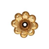 Tierra Cast 1 Adet 5X11.5 Mm Altın Rengi Çiçek Boncuk Şapkası - 94-5589-26