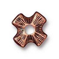 Tierra Cast Rivetable 1 Adet 11.0 Mm Bakır Rengi Çarpı Takı Ara Aksesuarı - 94-5799-18