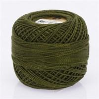 Ören Bayan Koton Perle No:8 Koyu Yeşil El Nakış İpliği - 4058