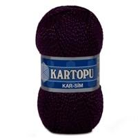 Kartopu Kar-Sim Koyu Mor El Örgü İpi - K729