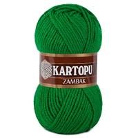 Kartopu Zambak Çimen Yeşili El Örgü İpi - K416