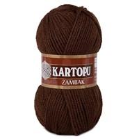 Kartopu Zambak Koyu Kahverengi El Örgü İpi - K890