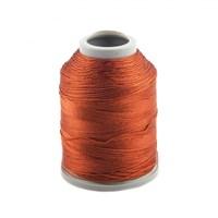 Kartopu Kiremit Rengi Polyester Dantel İpliği - Kp687