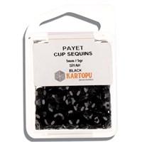 Kartopu 5 Mm Siyah Payet - 01.105