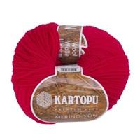 Kartopu Merino Kırmızı El Örgü İpi - K141