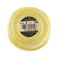 Dmc Koton Perle Yumak 10 Gr Sarı No:8 - 104