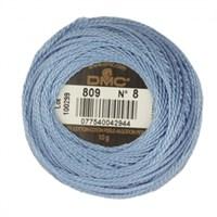 Dmc Koton Perle Yumak 10 Gr Mavi No:8 - 809