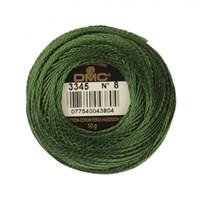 Dmc Koton Perle Yumak 10 Gr Yeşil No:8 - 3345
