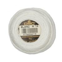 Dmc Koton Perle Yumak 10 Gr Beyaz No:12 - Blanc