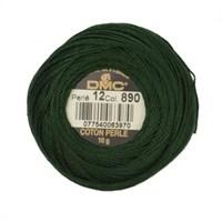 Dmc Koton Perle Yumak 10 Gr Yeşil No:12 - 890