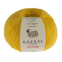 Gazzal Dennis Sarı El Örgü İpi - 917