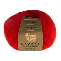 Gazzal Dennis Kırmızı El Örgü İpi - 920