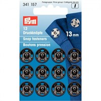 Prym 13 Mm 12 Set Metal Çıtçıt - 341157