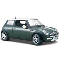 Maisto Mini Cooper Model Araba 1:24 Yeşil