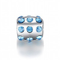 Angemiel Noktalı Mavi Kristal Figürlü Charm İle Kendi Tarzını Yarat