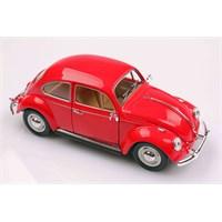 Kırmızı 1967 Volkswagen Classical Beetle 1/24 Die-Cast Model Araç