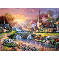 Castorland 3000 Parça Huzurlu Yansıma Puzzle