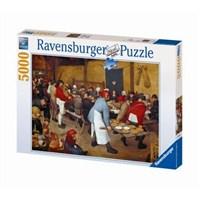Ravensburger Brueghel-Köyde Düğün (5000 Parça)