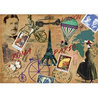 Ks Games 1000 Parça Once Upon Tine İn Europe Puzzle