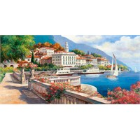 Castorland Idyllic Landscape Of The Lake Como 4000 Parça