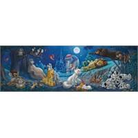 Clementoni 1000 Parça Puzzle Disney Panorama - Sweet Night