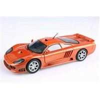 Motomax 2004 Saleen S7 1/18 Die Cast Model Araç
