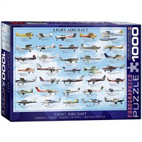 Eurographics Puzzle 1000 Parça General Light Aviation