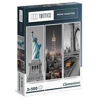 Clementoni New York - 3X500 Parça Puzzle